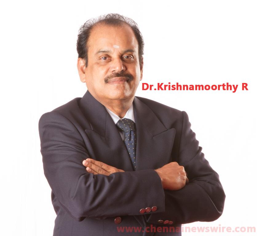 Dr.Krishnamoorthy R, Senior Consultant, Institute of Craniofacial, Aesthetic and Plastic Surgery